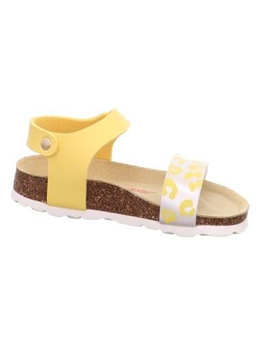 Superfit Superfit 0-600123-6000-1 Sarı Kız ÇocukSandalet Sarı